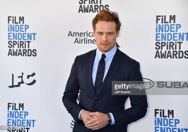 Sam Heughan attends the 2019 Film Independent Spirit Awards on February 23 2019 in Santa Monica California