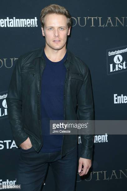 Sam Heughan attends the New York premiere of 'Outlander' Season Three at Time Inc on September 5 2017 in New York City