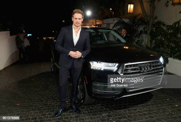 Sam Heughan attends W Magazine's Best Performances Party presented by Audi at Chateau Marmont on January 4 2018 in Los Angeles California