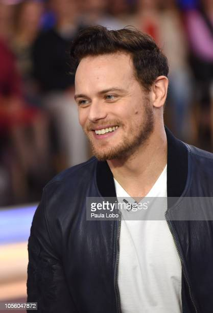 AMERICA Sam Heughan is a guest on 'Good Morning America' Thursday November 1 on ABC SAM