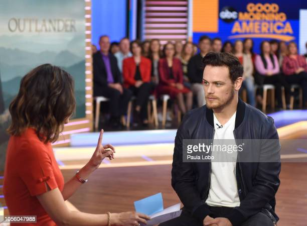 AMERICA Sam Heughan is a guest on 'Good Morning America' Thursday November 1 on ABC CECILIA