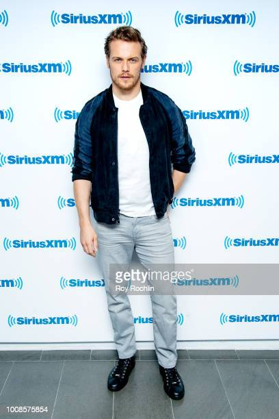 Sam Heughan visits SiriusXM Studios on July 31 2018 in New York City