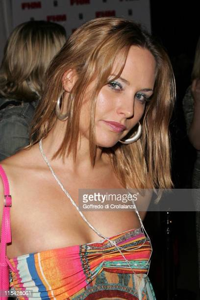 Sam Heuston during The FHM 100 Sexiest Women In The World Party 2006 Outside Arrivals at Madame Tussauds in London Great Britain