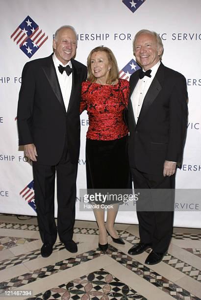 Sam Heyman Mrs Lieberman and Senator Joseph Lieberman