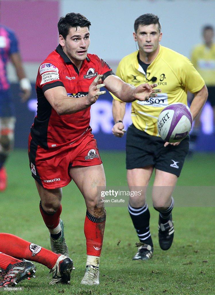 Stade Francais Paris v Edinburgh Rugby - European Rugby Challenge Cup