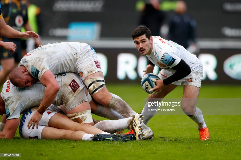 Wasps v Exeter Chiefs - Gallagher Premiership Rugby : Nieuwsfoto's