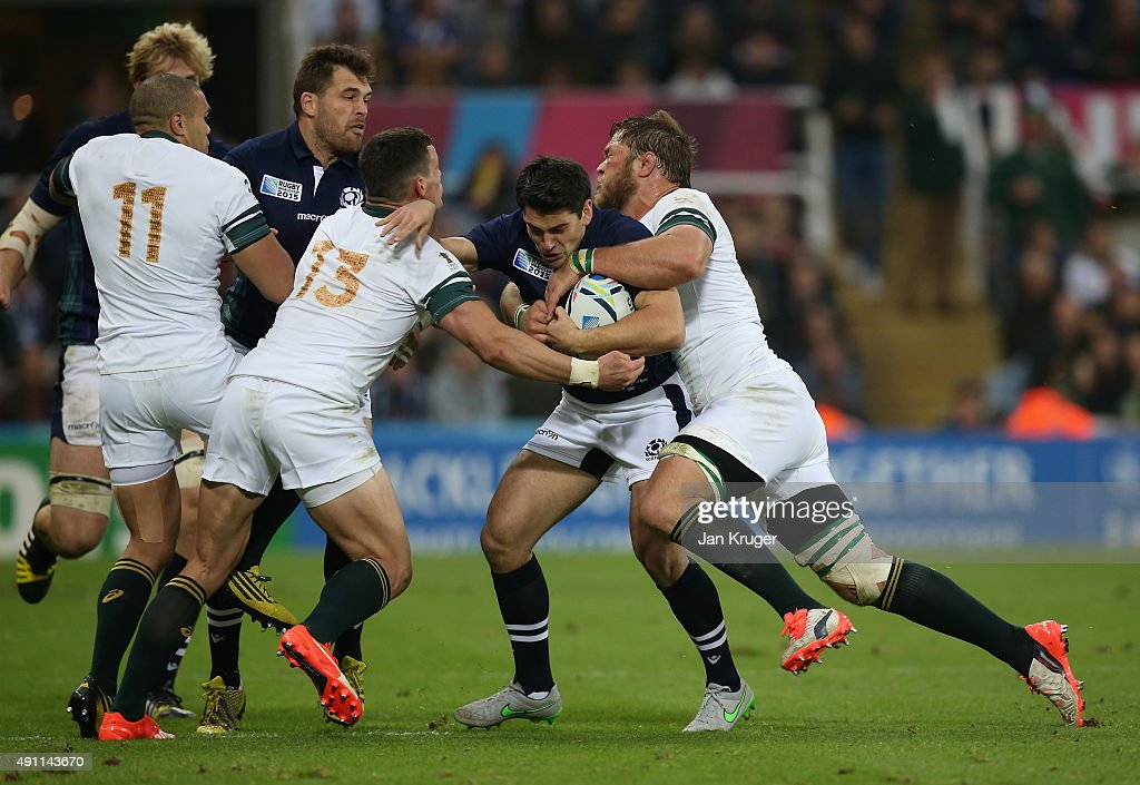 South Africa v Scotland - Group B: Rugby World Cup 2015