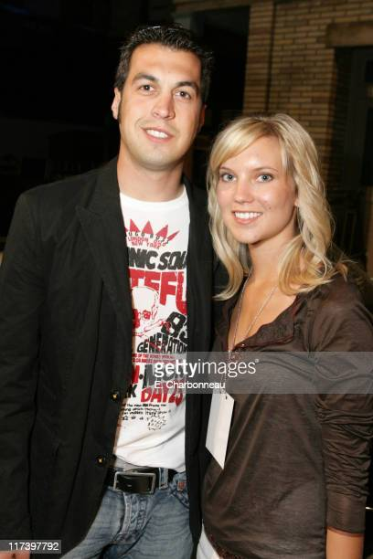 Sam Hornish Jr and wife Crystal Liecht *Exclusive*