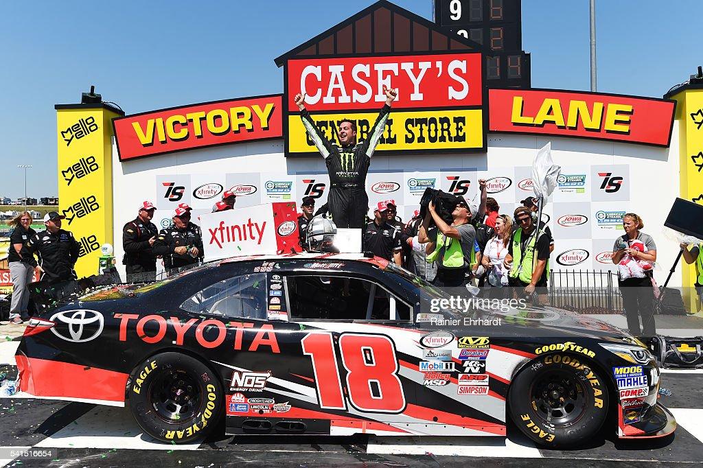 NASCAR XFINITY Series American Ethanol E15 250 presented by Enogen : News Photo