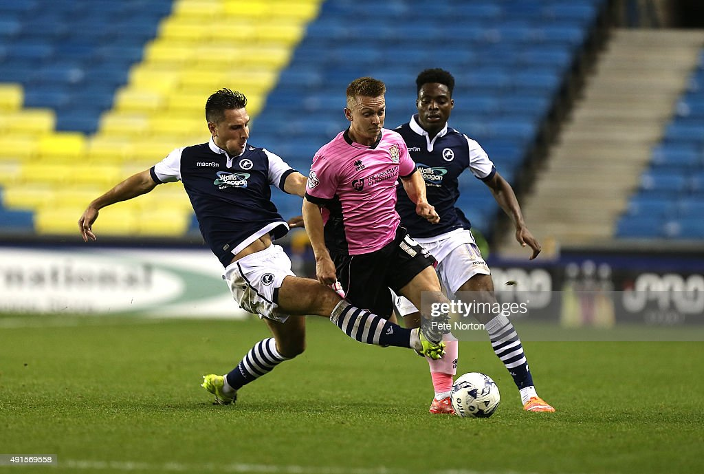 Millwall v Northampton Town - Johnstone's Paint Trophy Second Round