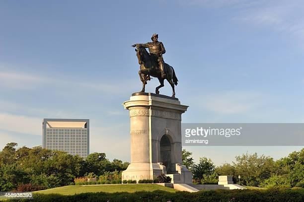 Sam Houston Statue in Hermann Park