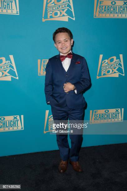 Sam Humphrey attends Fox Searchlight And 20th Century Fox Host Oscars PostParty on March 4 2018 in Los Angeles California