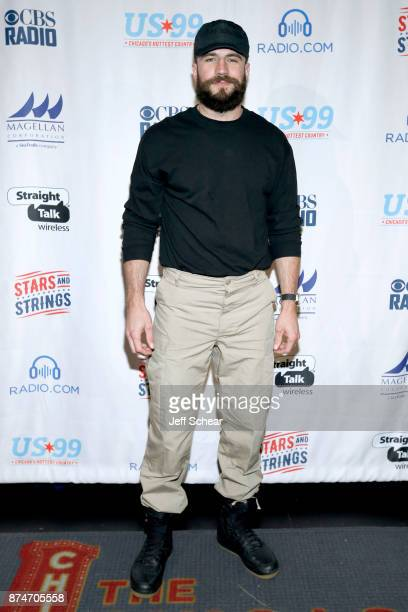 Sam Hunt attends a meet greet for CBS RADIO's Third Annual 'Stars and Strings' Concert to honor our nation's veterans at Chicago Theatre on November...