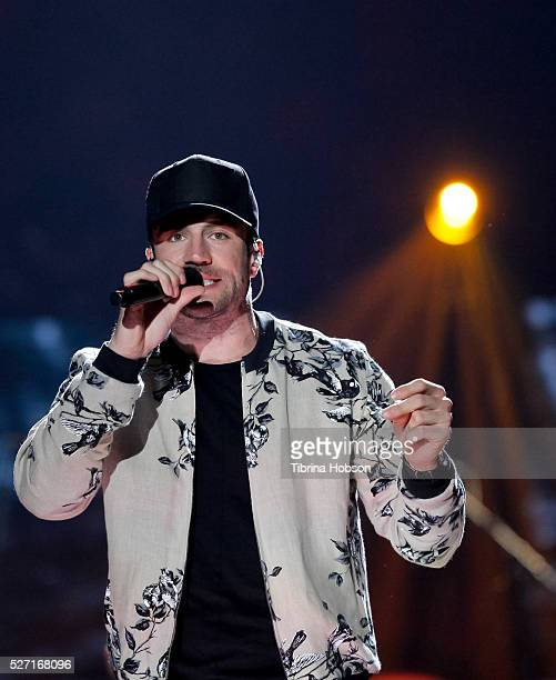 Sam Hunt performs at 2016 iHeartCountry Festival at The Frank Erwin Center on April 30 2016 in Austin Texas