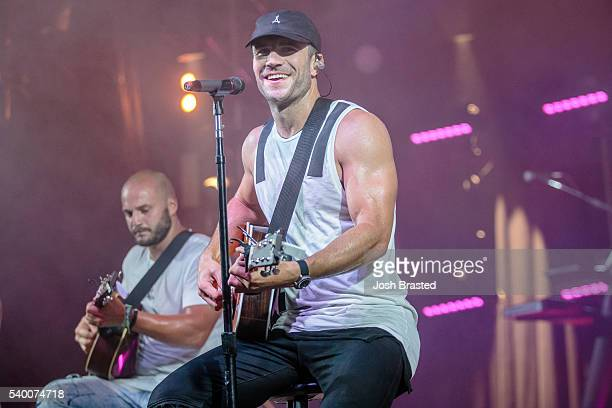 Sam Hunt performs during the Bonnaroo Music Arts Festival on June 11 2016 in Manchester Tennessee