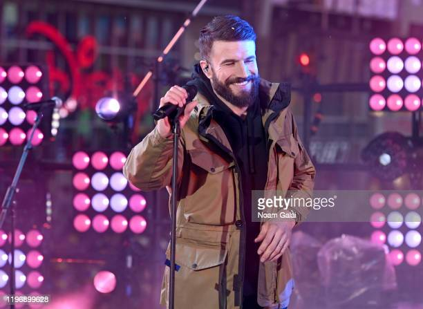 Sam Hunt performs during the Times Square New Year's Eve 2020 Celebration on December 31 2019 in New York City