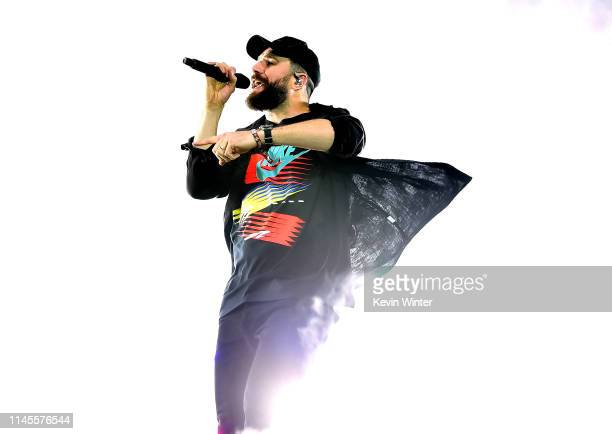 Sam Hunt performs onstage during the 2019 Stagecoach Festival at Empire Polo Field on April 27 2019 in Indio California