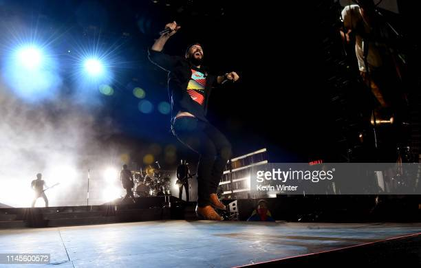 Sam Hunt performs onstage during the 2019 Stagecoach Festival at Empire Polo Field on April 27, 2019 in Indio, California.