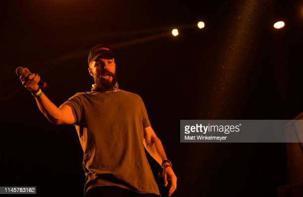 Sam Hunt performs onstage during the 2019 Stagecoach Festival at Empire Polo Field on April 28 2019 in Indio California