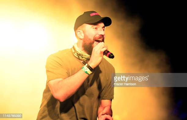 Sam Hunt performs with Diplo onstage during the 2019 Stagecoach Festival at Empire Polo Field on April 28, 2019 in Indio, California.