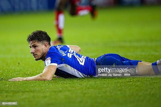 Sam Hutchinson of Sheffield Wednesday dejected after gives away a penalty during the Sky Bet Championship fixture between Sheffield Wedneday and...