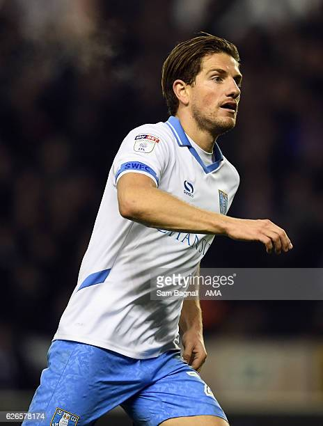 Sam Hutchinson of Sheffield Wednesday during the Sky Bet Championship match between Wolverhampton Wanderers and Sheffield Wednesday at Molineux on...