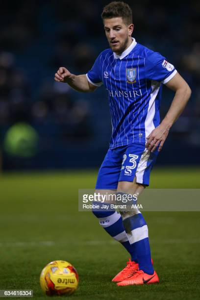 Sam Hutchinson of Sheffield Wednesday during the Sky Bet Championship match between Sheffield Wednesday and Birmingham City at Hillsborough on...