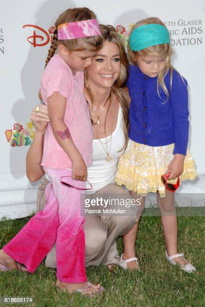 Sam J Sheen Denise Richards and Lola Rose Sheen attend 21st ANNUAL A TIME FOR HEROES CELEBRITY PICNIC SPONSORED BY DISNEY TO BENEFIT THE ELIZABETH...
