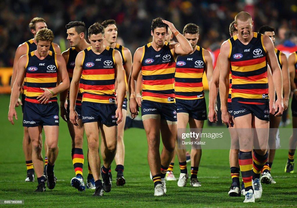 AFL Rd 14 - Adelaide v Hawthorn : News Photo