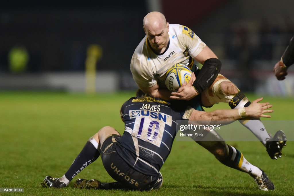 Sale Sharks v Northampton Saints, Rugby - Aviva Premiership : News Photo