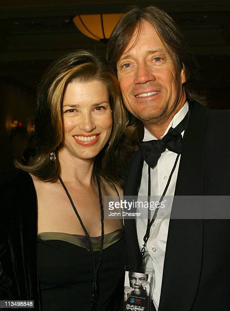 Sam Jenkins and Kevin Sorbo during Muhammad Ali's Celebrity Fight Night XIII Inside at Marriot Desert Ridge Resort Spa in Phoenix Arizona United...