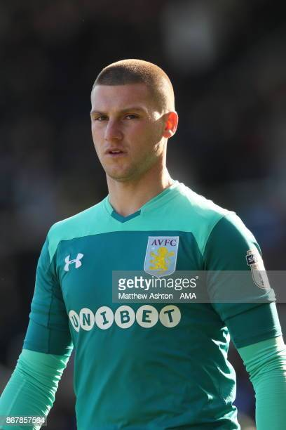 Sam Johnstone of Aston Villa during the Sky Bet Championship match between Birmingham City and Aston Villa at St Andrews on October 29 2017 in...