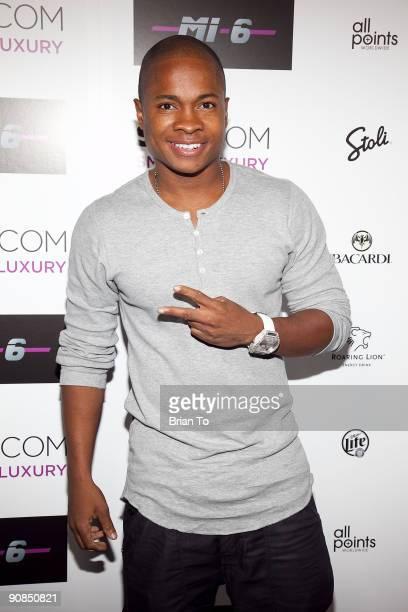Sam Jones III attends Mi6 Nightclub Grand Opening Party on September 15 2009 in West Hollywood California