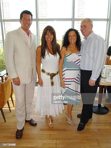 Sam Kane and Linda Lusardi with Nick Leeson and his wife