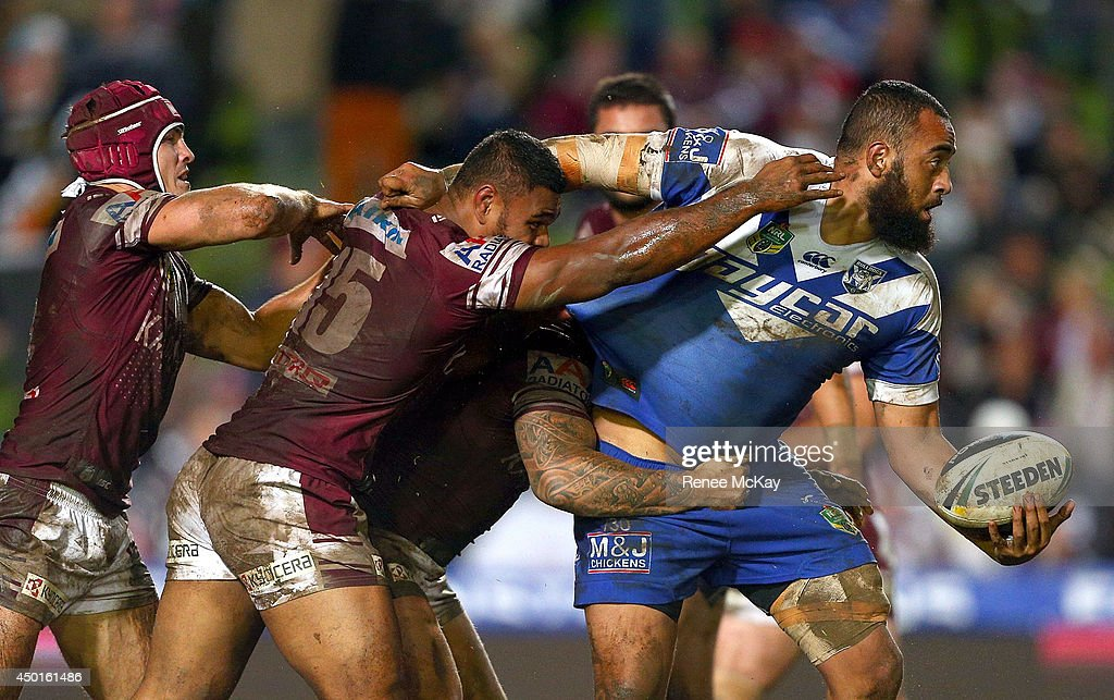 NRL Rd 13 - Sea Eagles v Bulldogs