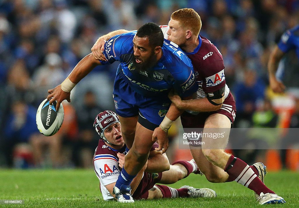 NRL Rd 17 - Bulldogs v Sea Eagles