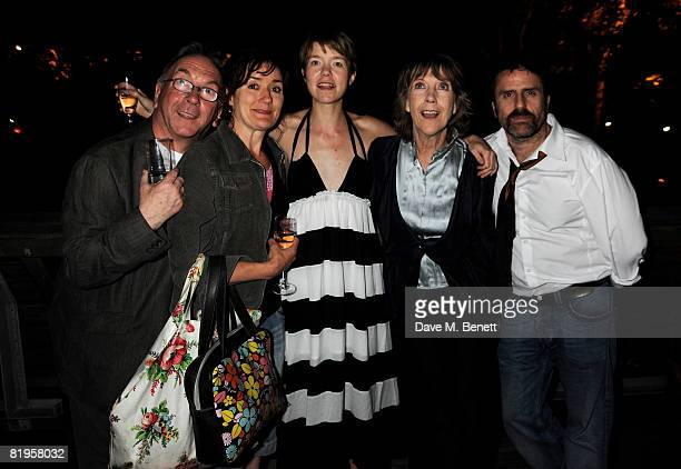 Sam Kelly Sophie Thompson Anna Maxwell Martin Dame Eileen Atkins and Con O'Neill attend the afterparty following the press night of 'The Female Of...