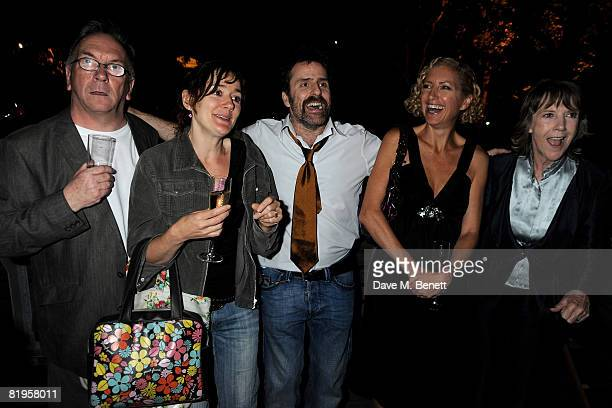 Sam Kelly Sophie Thompson Con O'Neill Joanna MurraySmith and Dame Eileen Atkins attend the afterparty following the press night of 'The Female Of The...
