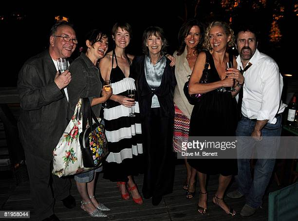 Sam Kelly Sophie Thompson Dame Eileen Atkins Joanna MurraySmith and Con O'Neill attend the afterparty following the press night of 'The Female Of The...