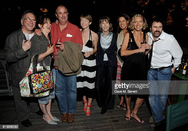 Sam Kelly Sophie Thompson Roger Michell Anna Maxwell Martin Dame Eileen Atkins Joanna MurraySmith and Con O'Neill attend the afterparty following the...
