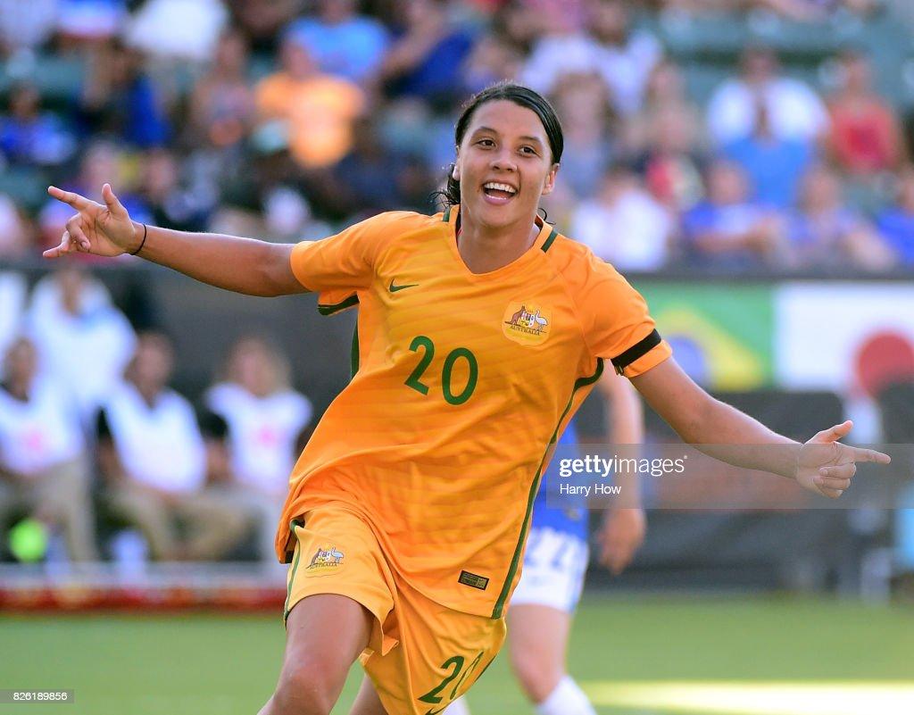 2017 Tournament Of Nations - Brazil v Australia : News Photo