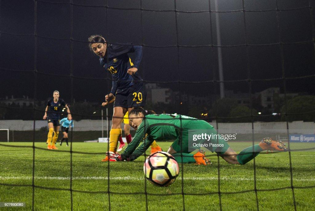 Australia v China - Algarve Cup : News Photo