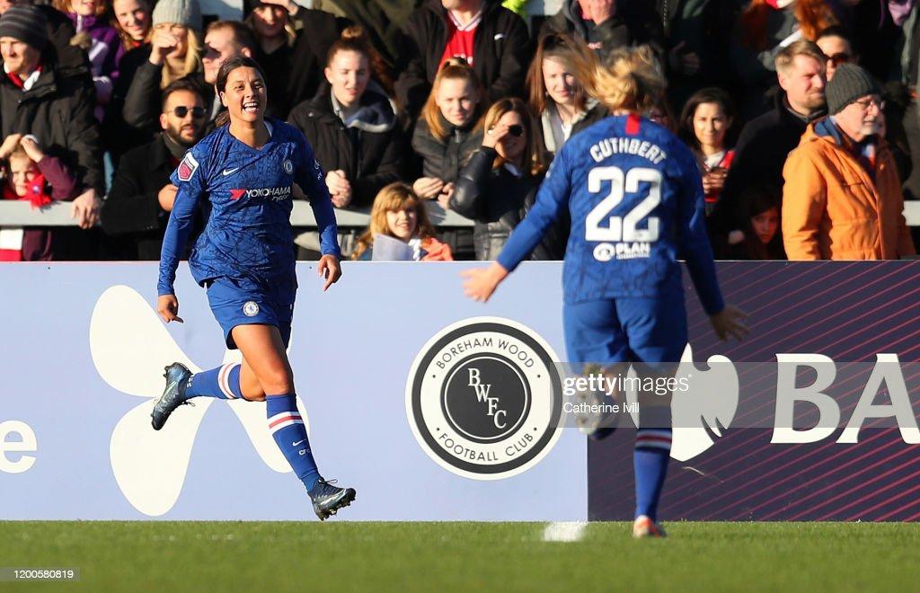 Arsenal v Chelsea - Barclays FA Women's Super League : News Photo