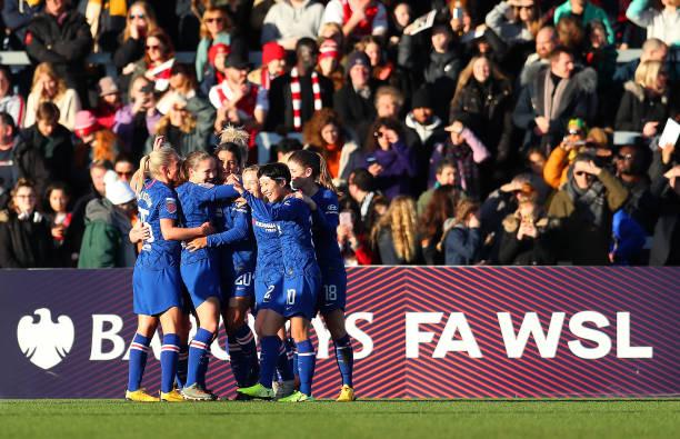 GBR: Arsenal v Chelsea - Barclays FA Women's Super League