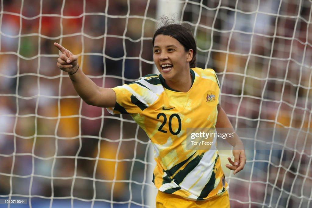 Australia v Vietnam - Women's Olympic Football Tournament Play-Off : ニュース写真