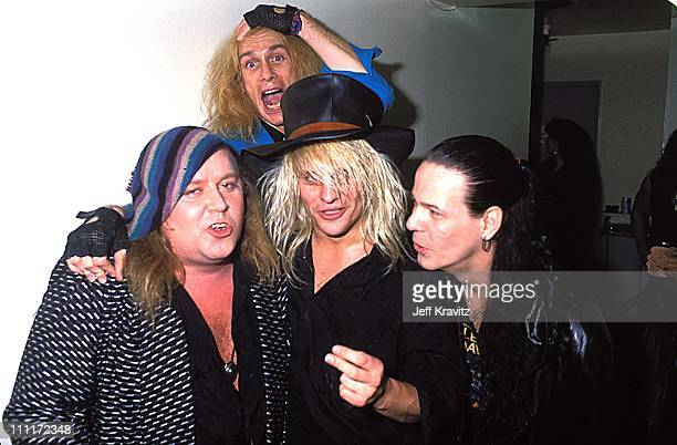 Sam Kinison Billy Sheehan CC DeVlle and Bobby Dall