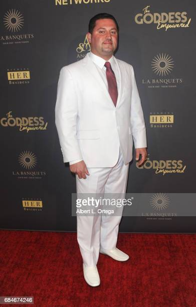 Sam Labachyan arrives for The World Networks Presents Launch Of The Goddess Empowered held at Brandview Ballroom on May 17 2017 in Glendale California