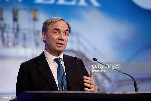Sam Laidlaw chief executive officer of Centrica Plc speaks during the 2014 IHS CERAWeek conference in Houston Texas US on Wednesday March 5 2014 IHS...