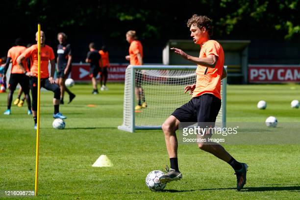 Sam Lammers of PSV during the Training PSV at the PSV Campus De Herdgang on May 29 2020 in Eindhoven Netherlands
