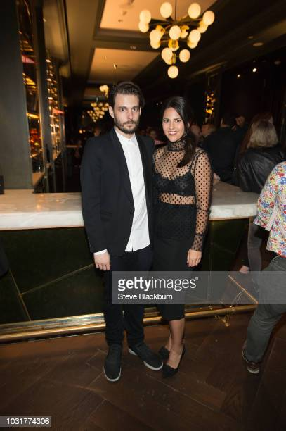 Sam Levinson and Ashley Levinson attend The Assassination Nation Premiere Party during the 2018 Toronto International Film Festival held at Mister C...